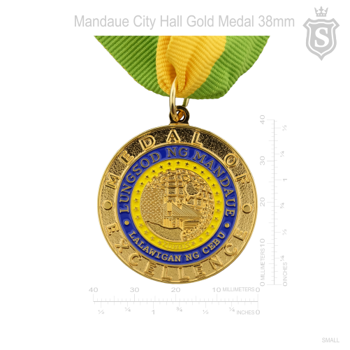 Mandaue City Hall Medal of Excellence Gold