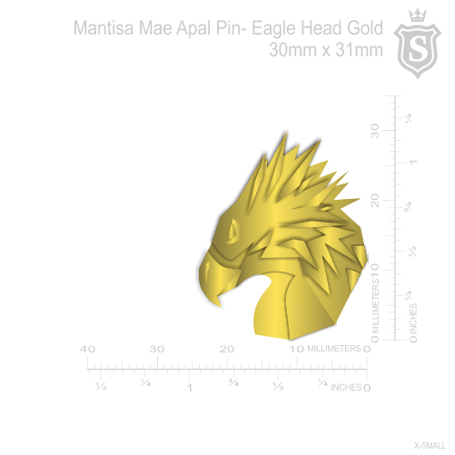 Mantisa-Eagle Pin