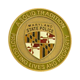 Mary Land State Police Gold Seal 42mm