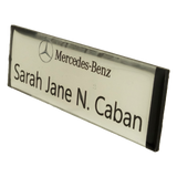 Mercedes-Benz Gravoply Nameplate