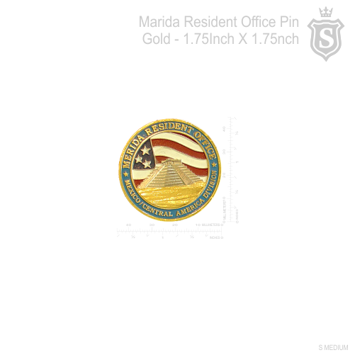 Marida Resident Office Pin