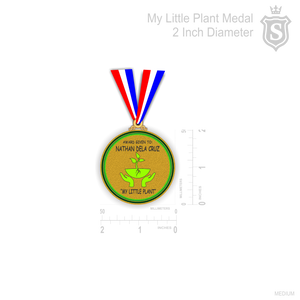 My Little Plant Medal