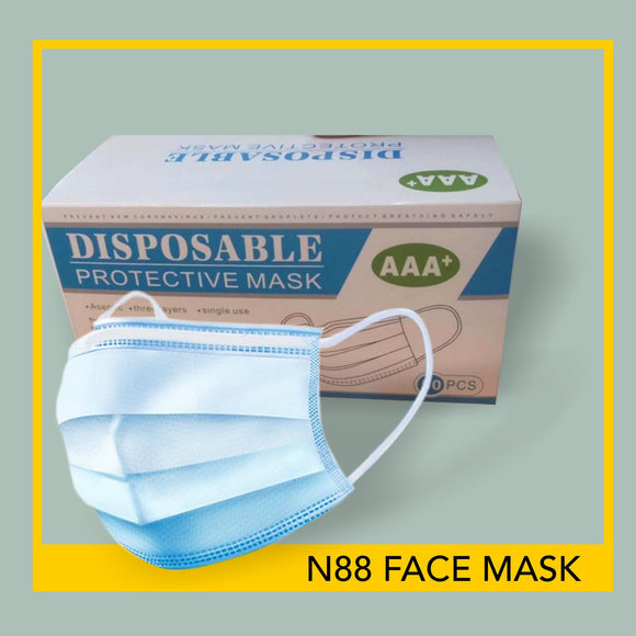 N88 Surgical Face Masks- 50 pieces per box