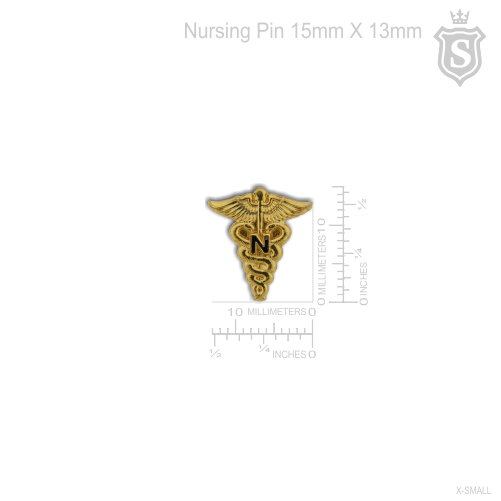 Nursing Pin Gold
