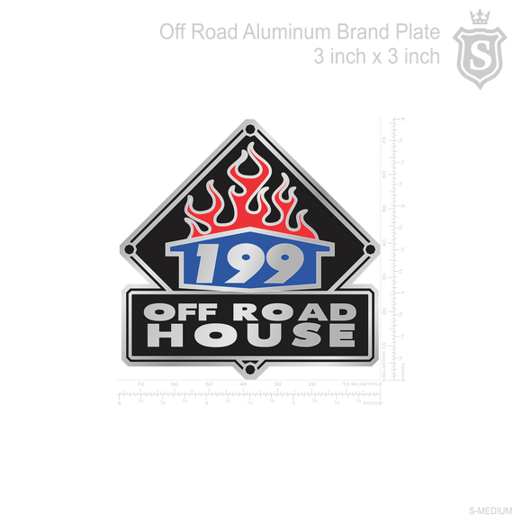 199 Off Road House Brandplate