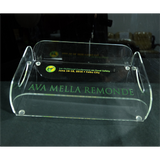 1st Our Food Conference on Food Safety Acrylic Tray with Engraved Painted Style-2 Design Small 10.25 inch