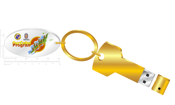 USB KEY DESIGN WITH CHARM