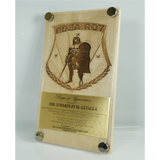 Philippine Drug Enforcement Agency (PDEA) Wooden Plaque with Acrylic Cover 10 inch