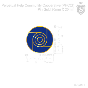 Perpetual Help Community Cooperative (PHCCI) Pin