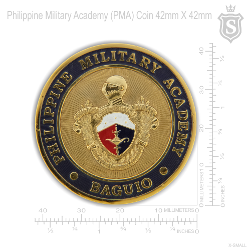 Philippine Military Academy (PMA) Gold Coin 42mm