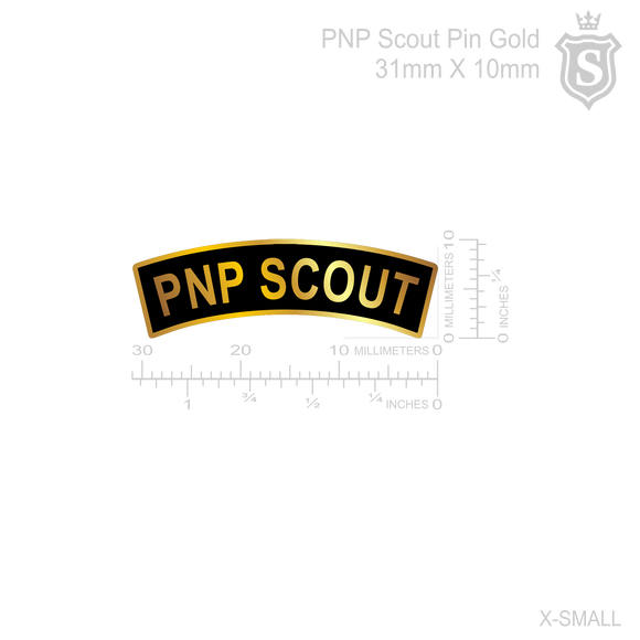 PNP Scout Pin