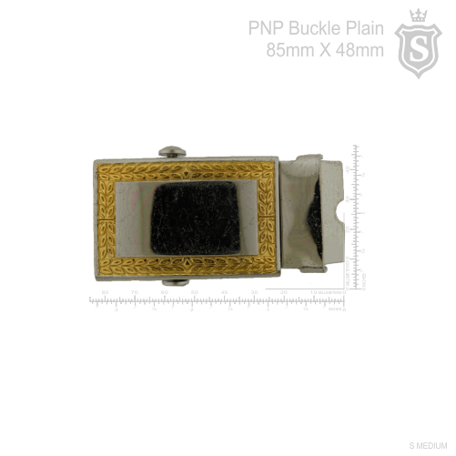 Philippine National Police (PNP) PCO Plain Buckle 85mm