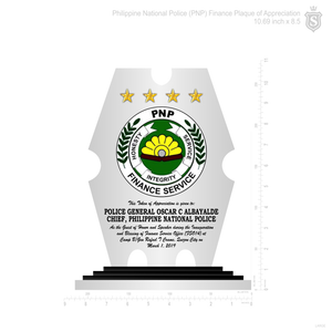Philippine National Police Shield Plaque