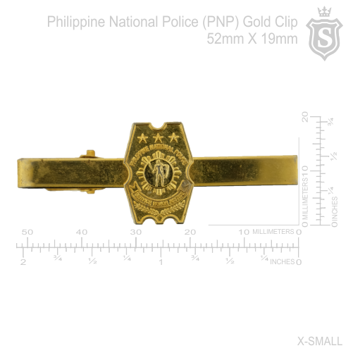 Philippine National Police (PNP) Tie Clip