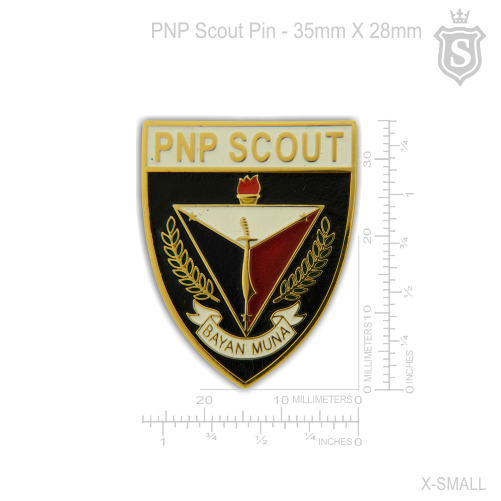 Philippine National Police (PNP) Scout Pin