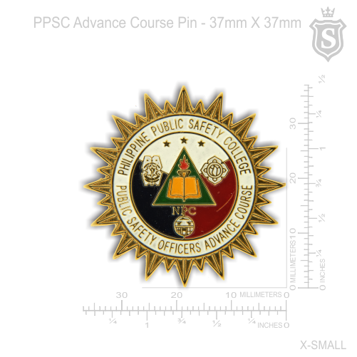 Public Safety Officers Advance Course Pin ( PSOAC )