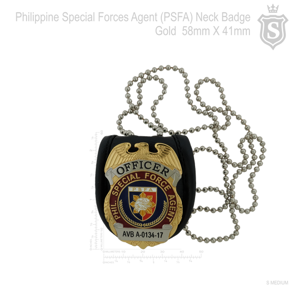 PSFA-Philippine Special Force Agent Badge