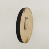 Wooden Button Pin