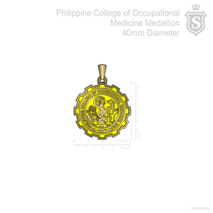 Philippine College of Occupational Medicine Medallion
