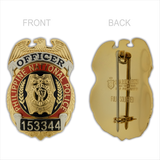 PNP-Philippine National Police Officer Breast Badge