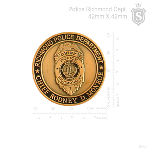 Richmond Police Department Pin