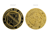 Province of Cebu Official Seal Gold 36mm