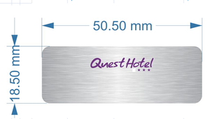 Quest Hotel Nameplate