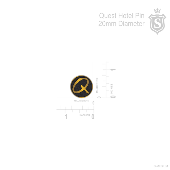 QUEST HOTEL PIN