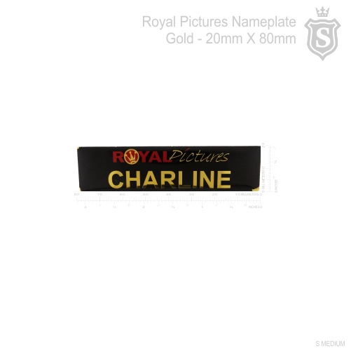 Royal Pictures Nameplate