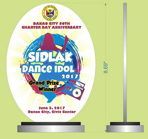 Sidlak Dance Idol 2017 Plaque