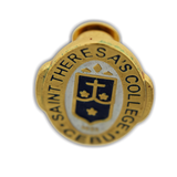 Saint Theresa's College (STC) Oval Pin Gold