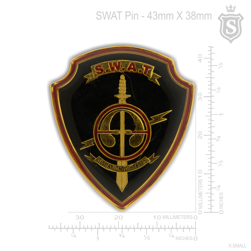 Special Weapons And Tactics (SWAT) Pin