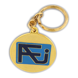 South Western University (SWU) FJ Azent Keychain Gold 38mm