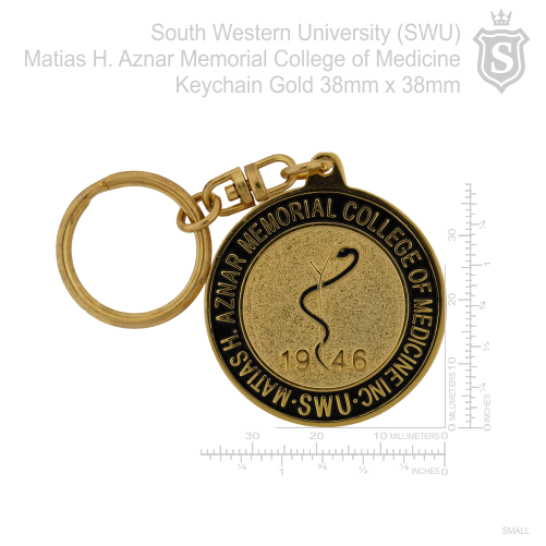 South Western University (SWU)- Matias H. Aznar Memorial College of Medicine Keychain 38mm