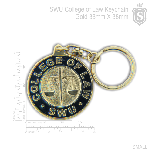 South Western University (SWU) College of Law Keychain 38mm