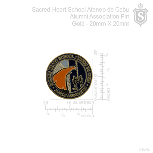 Sacred Heart School Ateneo de Cebu Pin Gold