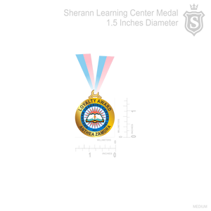 Sherran Learning Center Medal