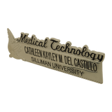 Silliman University Medical Technology Nameplate