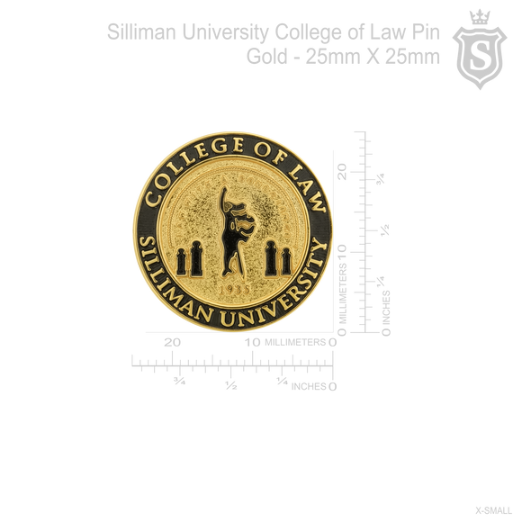 Silliman University College of Law Pin