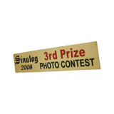 Sinulog 3rd Prize Plate 96mm