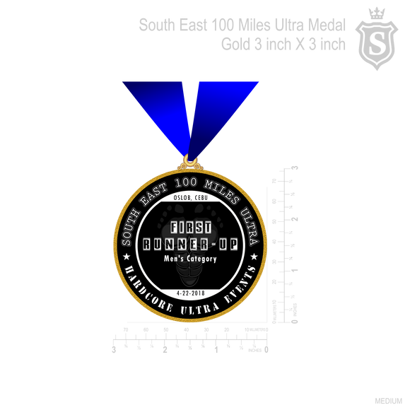 South East 100 Miles Ultra Medal