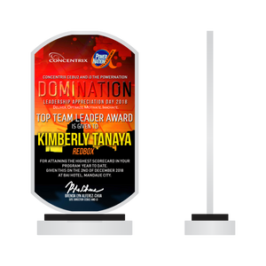 Convergys Domination Plaque
