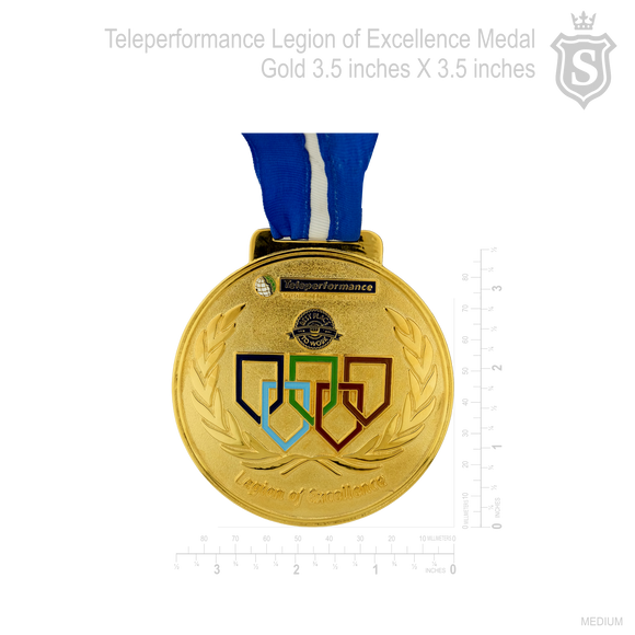 Teleperformance Legion of Excellence Medal
