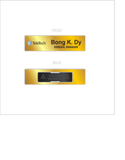 TeleTech Nameplate Gold