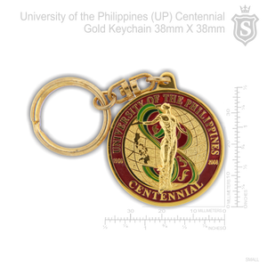 University of the Philippines  (UP) Centennial Keychain 38mm