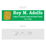 Velez College of Occupational Therapy and Physical Therapy 3D Nameplate