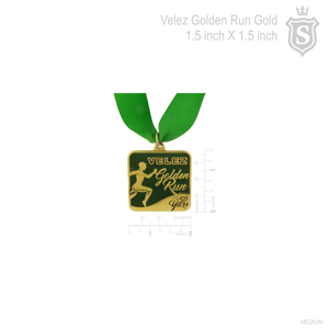 Velez Golden Run Medal
