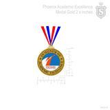 Phoenix Academic Excellence Medal Gold