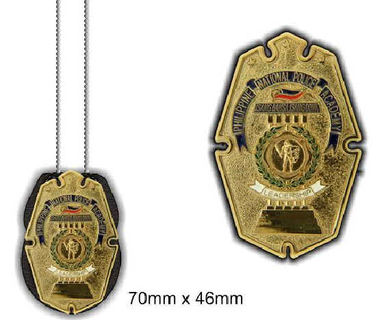 PNPA Leather Badge