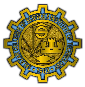 Salazar College of Science and Institute of Technology Pin